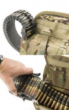 Ammunition backpack