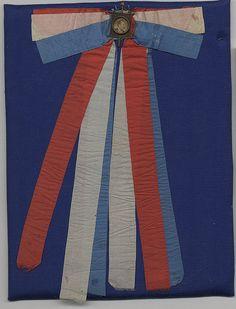 Garfield Campaign Ribbon, ca. 1880
