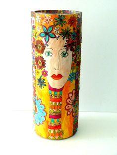 Polimer clay vase...