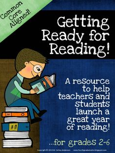 """The CCSS has greatly increased the rigor of what we expect our students to do. What some people don't consider is that we often do so much WITH our students one-on-one and in small groups that they struggle to work on their own. This resource is geared toward helping teachers """"teach"""" students how to be better independent readers. It addresses everything from introducing genres to picking good fit books to setting goals and monitoring behaviors during independent reading time. $6.00"""