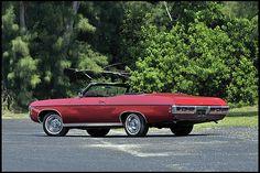 1969 Chevrolet Impala convertible, 427