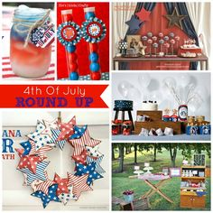 red white and blue roundup