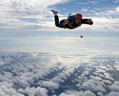 sky diving of course(: