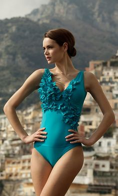 Always on the lookout for great swim suits... love the detail, and the shape $
