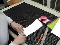 ▶ Diamond Fold Card - YouTube