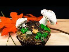 Mushroom Cupcakes: Meringue Mushroom Cupcake Recipe from Cookies Cupcakes and Cardio - YouTube