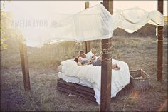 pallets as bed frame