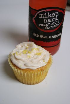 Mike's Hard Lemonade Cupcakes