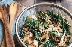 Crunchy Kale Chicken Salad - Low Carb and Gluten Free | GreenLite Medicine Blog #lowcarb #glutenfree #recipe #health #weightloss