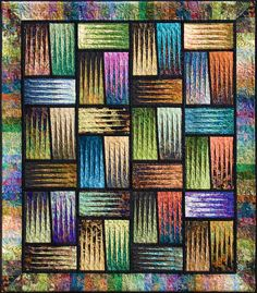 Judy Niemeyer - Stepping Stones Quilt  GREAT use of values - it really shines and seems translucent