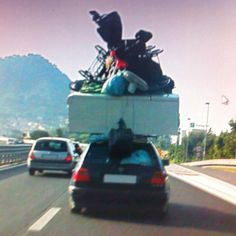 On a highway in Italy...