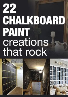 22 chalkboard paint creations that rock