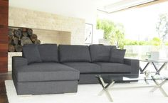 ROYCE SECTIONAL (GRAY)   by PANGEA / home.