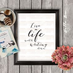 Inspirational+quote+inspirational+print+framed+by+HelloAm+on+Etsy,+$5.00