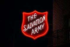 Salvation Army in neon by robsv