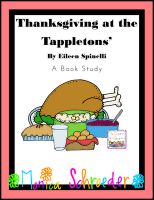 Fiction Book Study for Thanksgiving at the Tappletons's $3