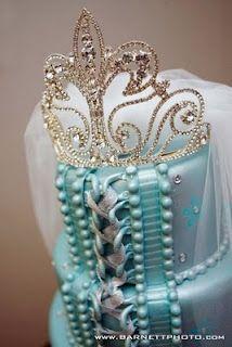 Great bridal shower cake topper