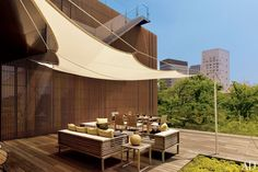 Stylish Outdoor Spaces : Architectural Digest