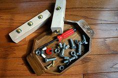 Pink and Green Mama: Kid's Carpentry: Making Home-made Montessori Manipulatives