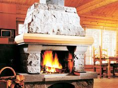 Soapstone Fireplace Surrounds and Mantels
