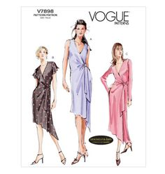 Vogue V7898  Size: 18-22  Availability: OOP  Condition: Uncut, Factory Folded
