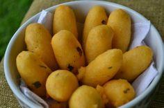 Bolinho de batata com farinha de milho | Receita