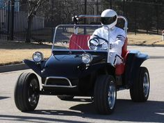 The Stig and DuneBuggyGolfCarts.com