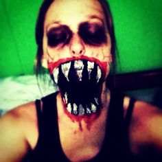 My holloween makeup
