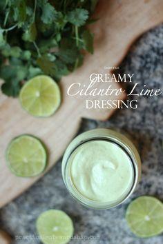 Creamy Cilantro Lime Dressing, Dairy-free