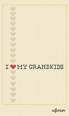 I love my grandkids! famili