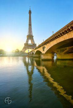 Eiffel at Sunrise
