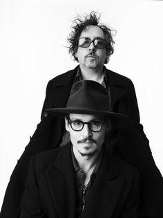Tim Burton & Johnny Depp