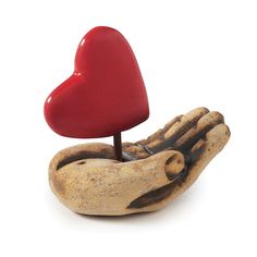 Heart in Hand, $100, by Cathy Broski