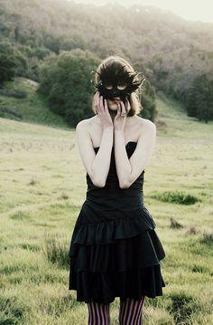By Emma Cherry #mask #masquerade