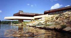 Frank Lloyd Wright x Petra Island NY When I win the lottery...