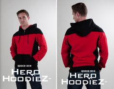 TDW Geek: Starfleet Hoodie of the Day  I want this in blue!!!