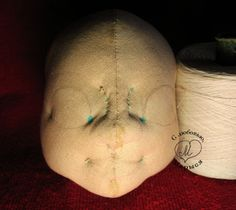 VERY comprehensive picture heavy tutorial on how to needle sculpt a dolls face!