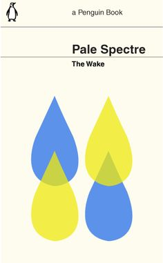 The Wake's Pale Spectre re-imagined as a Penguin bookl