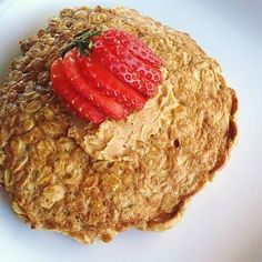 Best breakfast ever that actually keeps you full...in 5 minutes. Meet the oatmeal pancake.