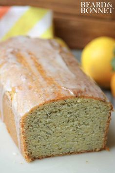 Meyer Lemon Poppy Seed Quick Bread {Beard and Bonnet} #glutenfree