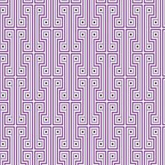Jonathan Adler Wallpaper George Purple. #laylagrayce #radiantorchid #pantone2014 #wallpaper