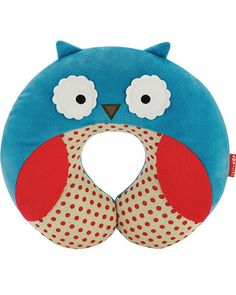 Travel in comfort and style with this trendy owl neck pillow. Click above to buy one.
