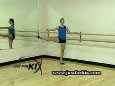 Learn how to do great Fouette' Turns. Dance Tips from the Dancers of Just For Kix! We teach all kinds of dance moves and steps for all different types of dance. We instruct dancers in Ballet, Hip Hop, Jazz, Kick, Modern, stretching and exercise.