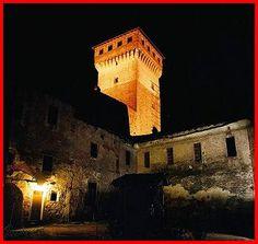 Rovasenda Castle~ The castle (13th and 14th centuries) stands near the stream Rovasenda.