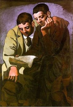 #Picasso - Reading the Letter (1921)