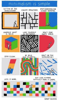 How to be a minimalist | less is more difficult than it looks