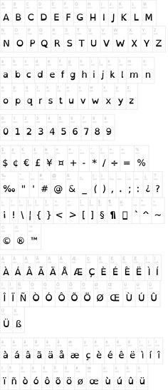 "Interesting! Font created to help dyslexic readers. Bottom heavy and unique character shapes help prevent letters and numbers from being confused. ""Open-Dyslexic Font"" 