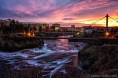Spokane River, Downtown Spokane WA