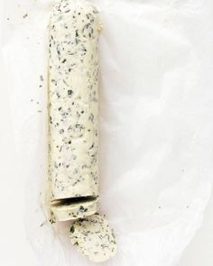 Basil Butter Recipe | Martha Stewart Recipes...been making this - so delish on crackers, green beans, flat breads
