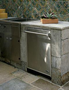 kitchen decor, interior design kitchen, kitchen backsplash, kitchen interior, outdoor kitchens, cement, outdoor living rooms, kitchen designs, kitchen tiles